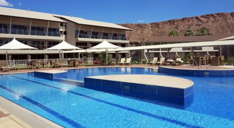Heated Resort Pool - Crowne Plaza Alice Springs Lasseters